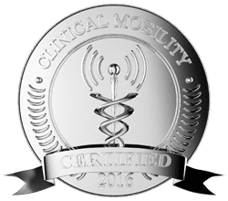 Clinical Mobility Certification Seal